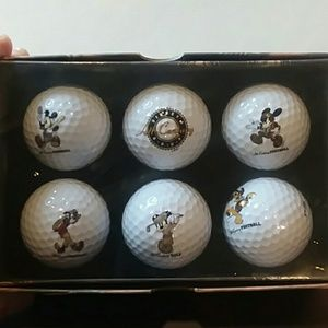 Disney's Century Of Legends Golf Balls